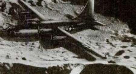 月球上发现二战飞机 疑似是魔鬼三角失踪的飞机